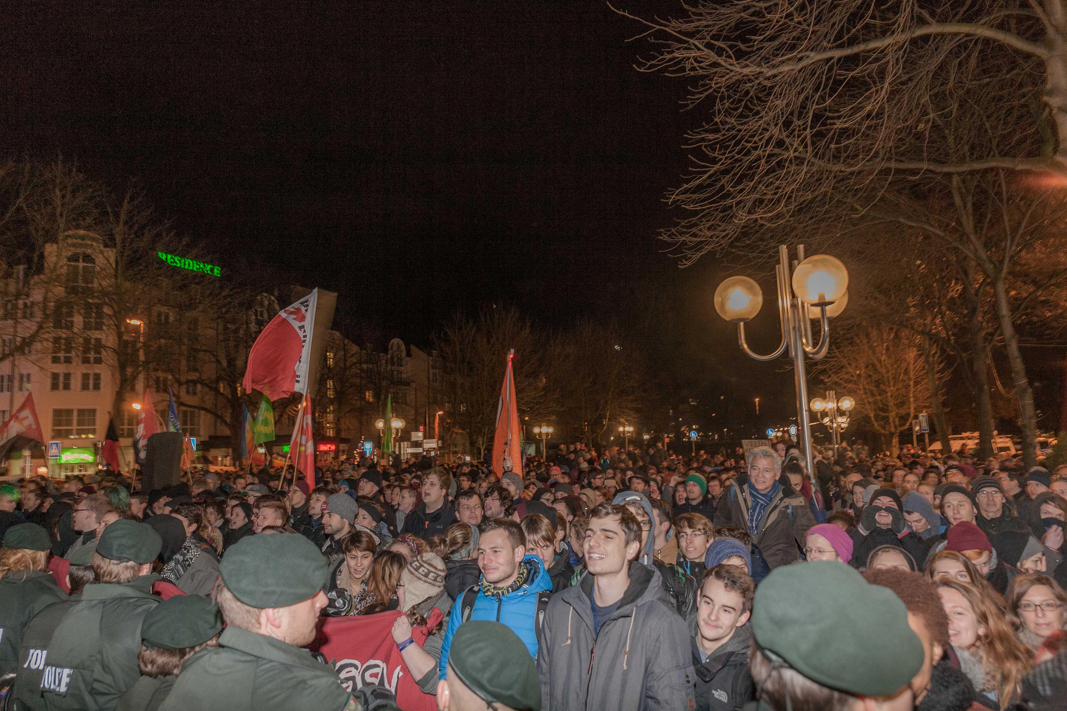 Am Montag auf dem Bonner Marktplatz: Null Toleranz für Rassisten